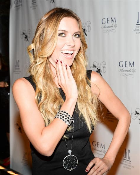 Audrina Patridges New Is by Audrina Patridge At 12th Annual Gem Awards In New York