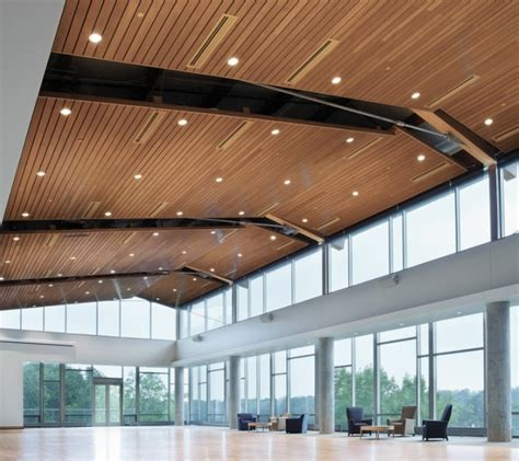 Vertical Faux Wood Ceiling Planks Modern Ceiling Design Faux Wood Ceiling