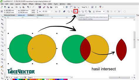 fungsi layout dalam coreldraw memahami fungsi shaping dalam coreldraw takevektor