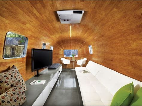 Airstream Interior Design by Remodeled Interior Of An Airstream Movers