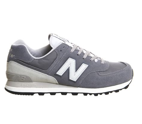 Gray Is The New by New Balance M574 Trainers In Gray Grey Save 37 Lyst