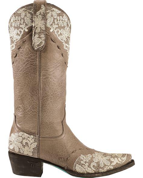 jeni lace boots s jeni lace western fashion boots boot barn