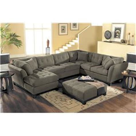Hm Richards by Hm Richards Metropolis Tufted Sectional Sofa With Chaise