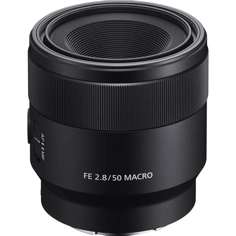 Sony Fe 50mm F 2 8 Macro sony fe 50mm f 2 8 macro lens sel50m28 b h photo
