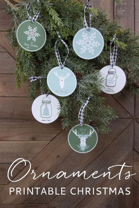 printable christmas ornament tags printable christmas ornaments christmas ideas