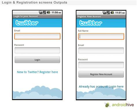 membuat form login di android membuat design login dan register aplikasi android