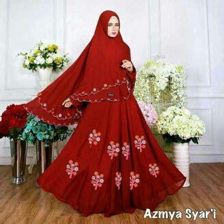 Gamis Anajah Syar I Crepe Ld 110 140 Busui 7 Freecadar baju gamis cantik bahan crepe