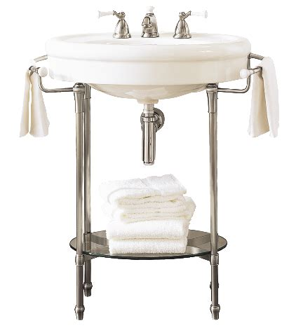 bathroom sink table this console table and pedestal sink from the standard