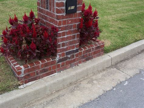 Brick Mailbox With Planter by Brick Mailboxes Kodiak Custom Masonry