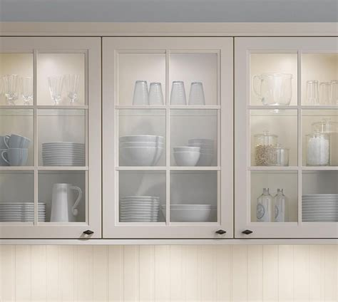 Kitchen Cabinet With Glass White Kitchen Cabinet Doors With Glass Kitchen And Decor