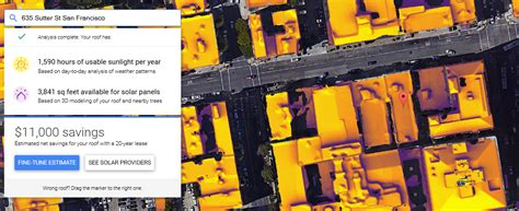 google s project sunroof aims to make it easier for you to google s project sunroof uses maps to calculate solar