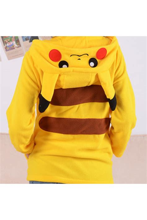 Pikachu Sweater pikachu kigurumi hoodie 4kigurumi