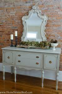 Grey China Cabinet How To Paint A Vintage Buffet Home Stories A To Z
