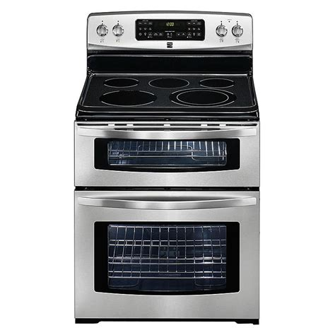 Sears Home Decor by Kenmore 98053 6 6 Cu Ft Double Oven Electric Range W