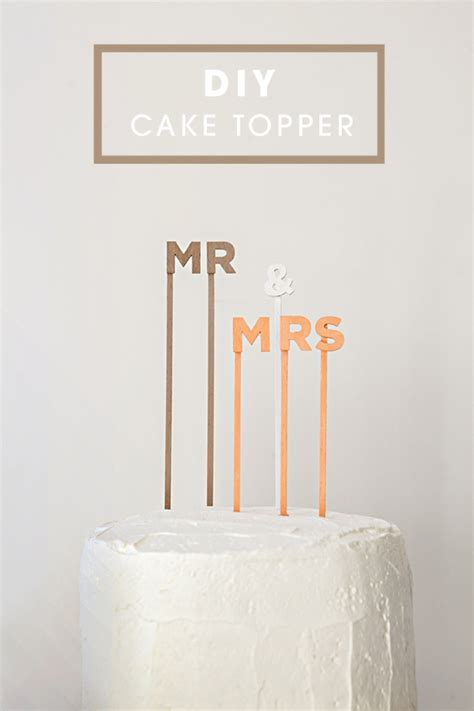 A Martha Esque Topper Of Your Own by Diy Make Your Own Custom Cake Topper Sayings