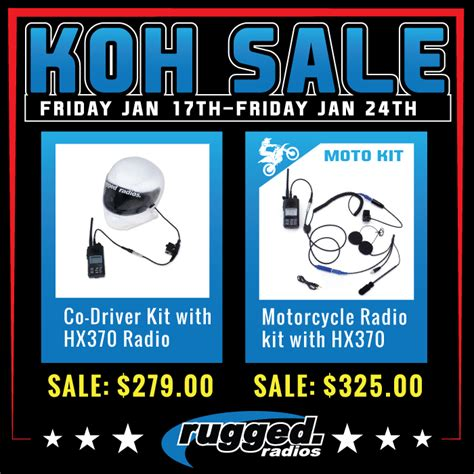 rugged radios coupon king of the hammers 2014 sale pirate4x4 4x4 and road forum