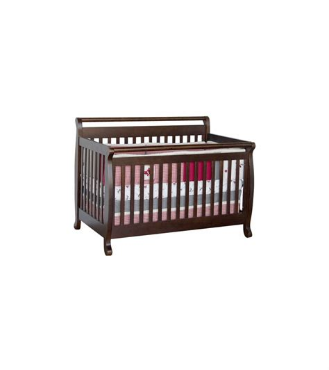 Davinci Emily 4 In 1 Convertible Crib In Espresso Convertible Crib Espresso