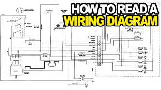 how to read an electrical wiring diagram