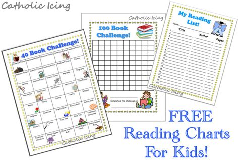 Free Printable Reading Graphs | printable reading charts for kids 20 book challenge 40
