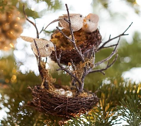 doves nest christmas ribbon 32 best ornaments images on ornament ornaments and deco