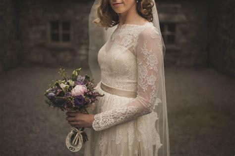 Vintage Wedding Hair Accessories Dublin by Vintage Wedding At The Lodge At Ashford Junebug