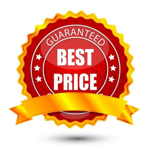 best price illustration of best price tag on white background stock