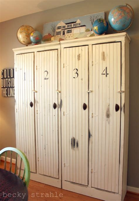 Lockers For Room Locker Styled Cupboards Use As The Entryway Room Divider