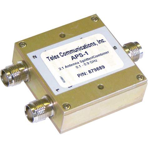 Antenna Combiner Telex Splitter Aps 1 Antenna Combiner Splitter 1 To 2