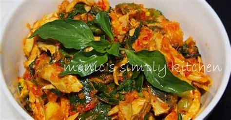 tongkol suwir pedas monics simply kitchen