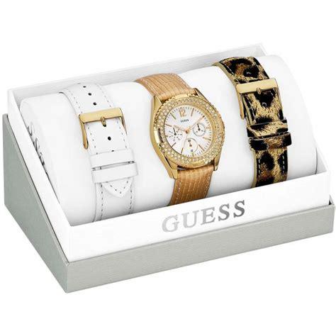 Jam Tangan Wanita Kenzo coffret montre guess w16574l1 bracelets blanc dor 233