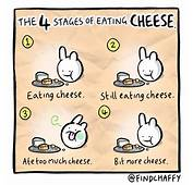 The Four Stages Of Eating Cheese Poke