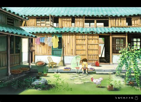 my neighbor s house tonari no totoro 235281 zerochan