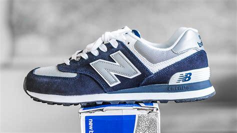 New Balance 574 Navy Not Adidas Nike Asics Vans Converse Macbeth new balance 574 navy m574bgs sneaker unboxing