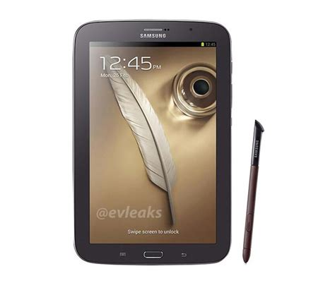 Samsung Note 8 Inch Brown Samsung Galaxy Note 8 0 Leaked