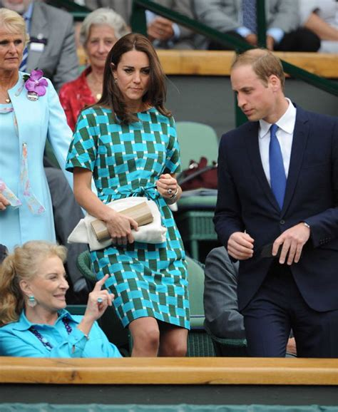 kate middleton at wimbledon 2014 kate middleton duchess of cambridge makes silly faces in
