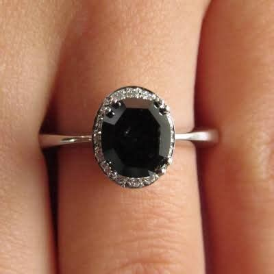 Cincim Single List Blue Ring black rings search my style