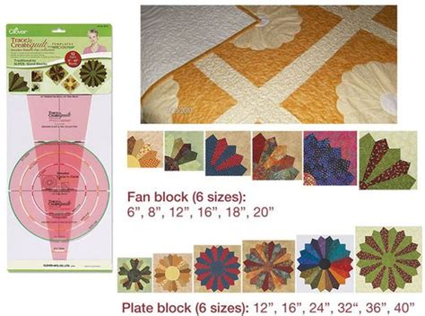 Clover Patchwork Templates - clover trace n create quilt templates dresden id13433