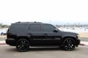 black on black bad cars chevy
