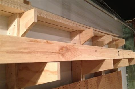 Build Lumber Storage Rack by How To Build A Wall Mounted Lumber Storage Rack One
