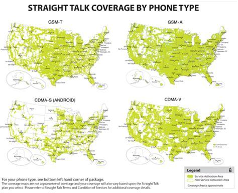 Straight Talk GSM VS CDMA Coverage   Page 2