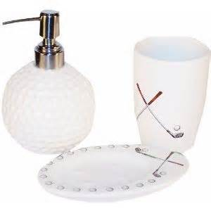 enjoy teeing with golf themed bathroom accessories