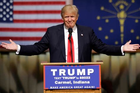 donald trump s unthinkable election donald trump wins indiana primary new york post