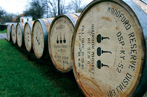 the barrel room at woodford reserve photo credit the top 10 american whiskey distilleries to tour now