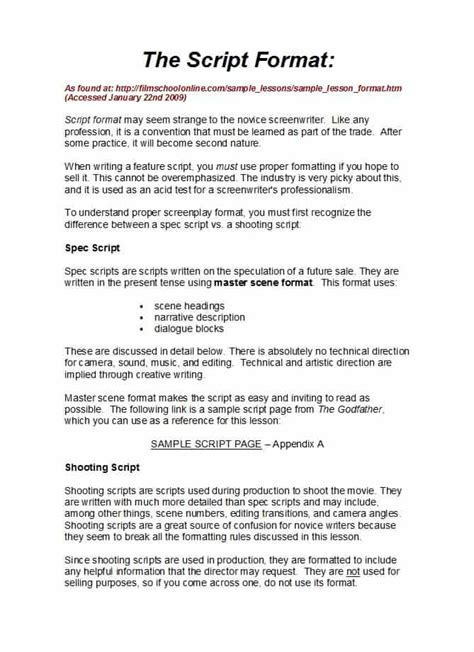 scripts template 37 creative screenplay templates screenplay format