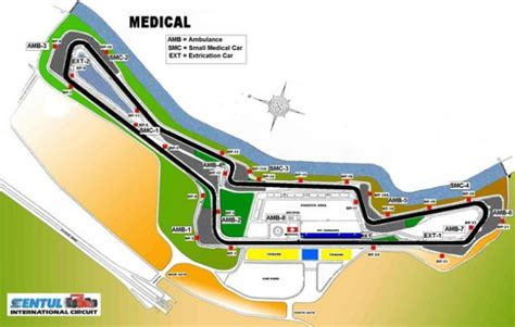 layout renovasi sirkuit sentul sentul international circuit