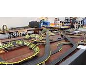 Tyco Slot Car Racing  80 Meter Track Layout YouTube