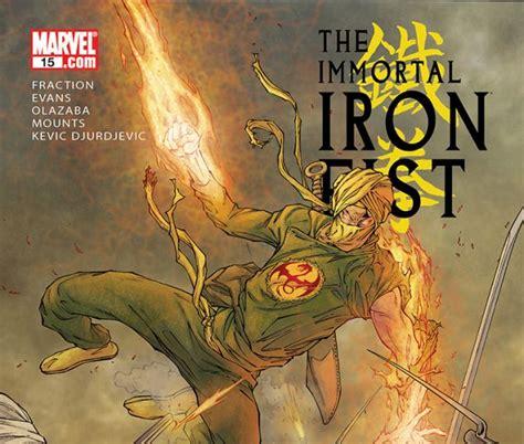 libro immortal iron fist the immortal iron fist 2006 15 comics marvel com