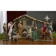 indoor nativity sets wayfair