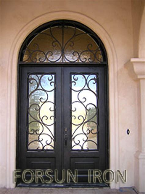 interior doors with arched transom luxury wrought iron door with arched transom for