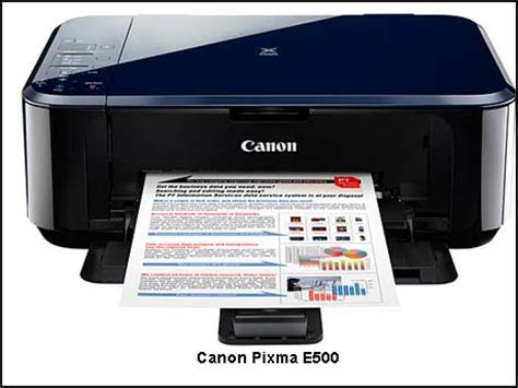 Printer Canon E500 canon pixma e500 economical multifunction inkjet printer